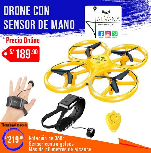 Drone Con Sensor De Mano
