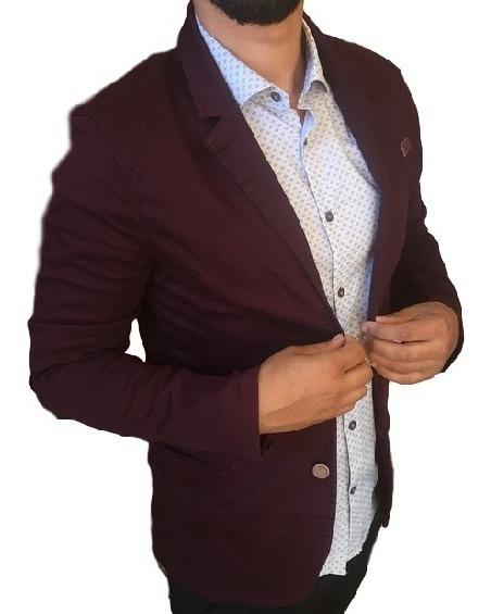 Blazer Social Masculino Slim Fit Casaco Casual 2 Cores Blusa