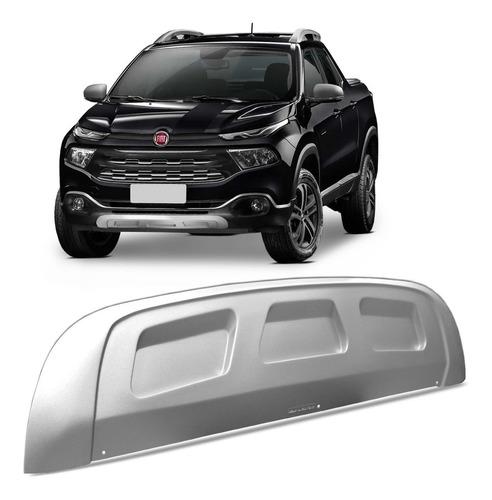 Aplique Protetor Parachoque Fiat Toro Inferior Dianteiro