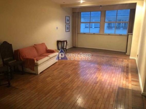 Apartamento À Venda, 4 Quartos, 1 Vaga, Leme - Rio De Janeiro/rj - 3149