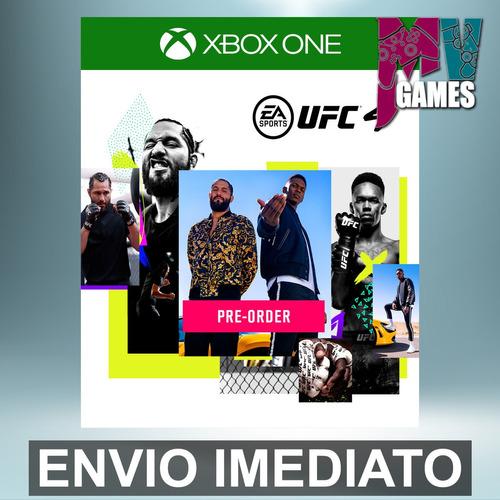 Ufc 4 Edição Padrão - Xbox One Código 25 Dígitos
