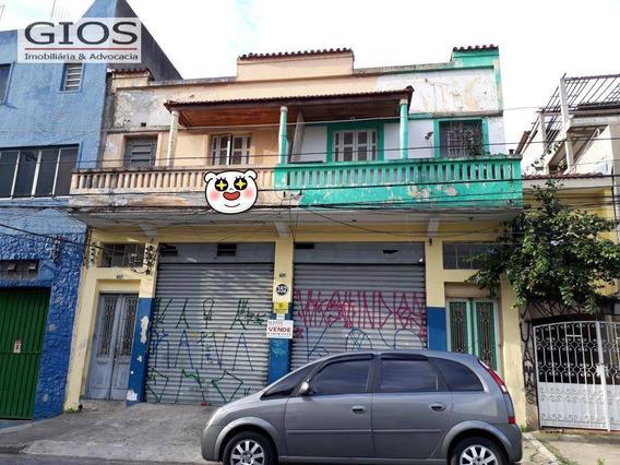 Imóvel Comercial / 1 Salão Com 300 M2 1 Banheiro / 2 Casas Em Cima. - Ga0193