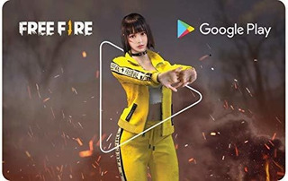 Tarjeta Google Play (free Fire)