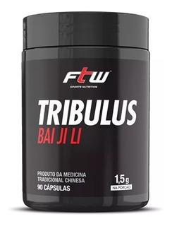 Tribulus 1.5g - Bai Ji Li - 90 Capsulas - Ftw