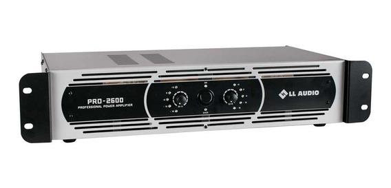 Amplificador Potência Profissional Ll Pro 2600 650w Rms