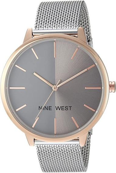 Nine West Reloj Mujer Nw/1981 Sunray| Original
