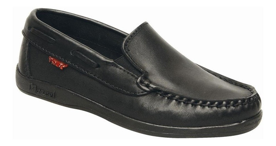 Zapato Nautico Marcel Colegial 7050 Mocasin 34 Al 40 100%cuero