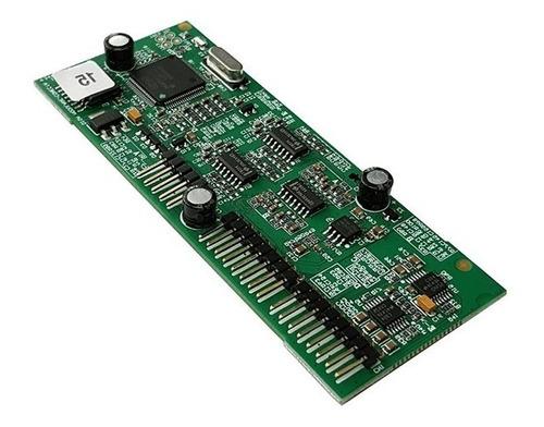 Placa Atendim. Digital Intelbras Disa Modulare Conecta+ Full