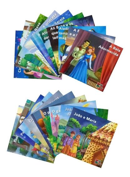Coleção Infantil Clássicos Favoritos 20 Livros