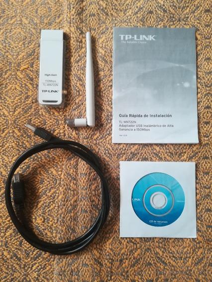 Adaptador Usb Wifi Tp Link Tl-wn722n - 150mbps