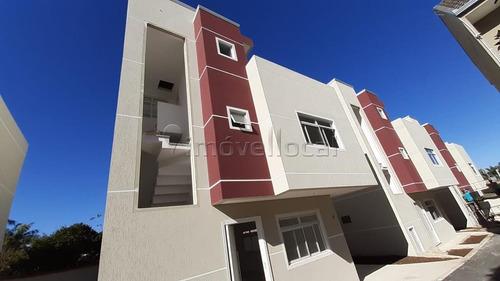 Sobrado Em Condomínio Com 3 Dormitórios À Venda Com 131m² Por R$ 655.000,00 No Bairro Uberaba - Curitiba / Pr - So00232