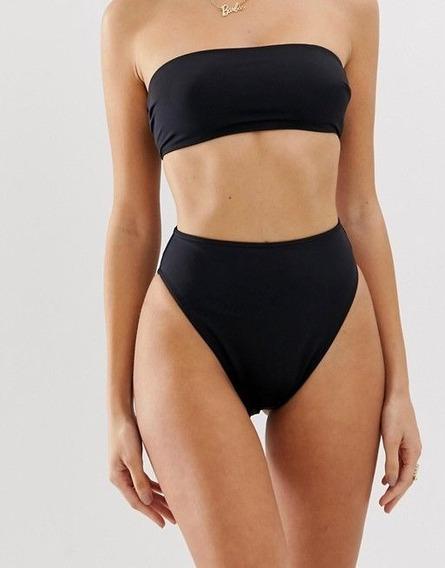 Biquíni Top Faixa Reto Hot Pants