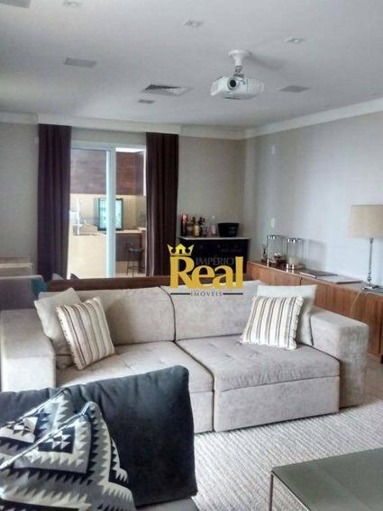 Apartamento Com 3 Dormitórios À Venda, 223 M² Por R$ 2.400.000,00 - Vila Romana - São Paulo/sp - Ap5640