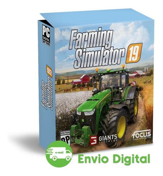 Farming Simulator 19 Português Mídia Digital Envio Imediato - Simulador Fazenda 2019