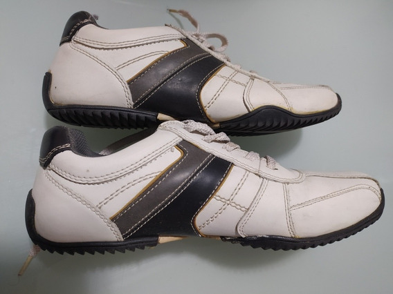 Zapatillas De Cuero Aldo Talle 8