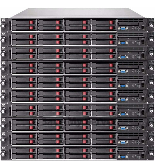 Hp Dl360 G7 Quad Core E5620 2,4 Ghz 8 Hds 2 Tb Sata 32gb Ram