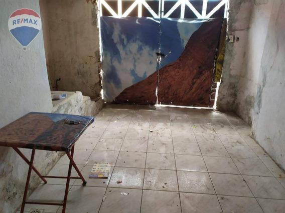 Casa Com 1 Dormitório À Venda - Álvaro Weyne - Fortaleza/ce - Ca0225