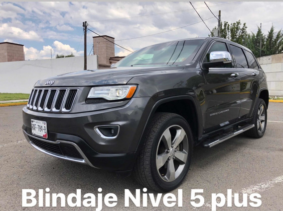 Jeep Grand Cherokee 2015 Blindada Nivel 5