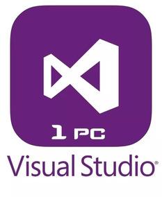 Visual Studio 2017 Enterprise Licencia 1 Pc Serial