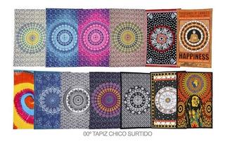 Mandala Cubrecama Manta Hindu Tapiz 140 X 220 Cm