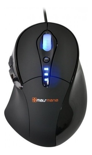 Mouse Gamer Laser Òptico Usb Mmx632 / 3400 Cpi Pc Notebook