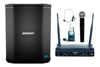 Parlante Portátil Bose S1 Pro + Bateria+tripode+mic Inal X2