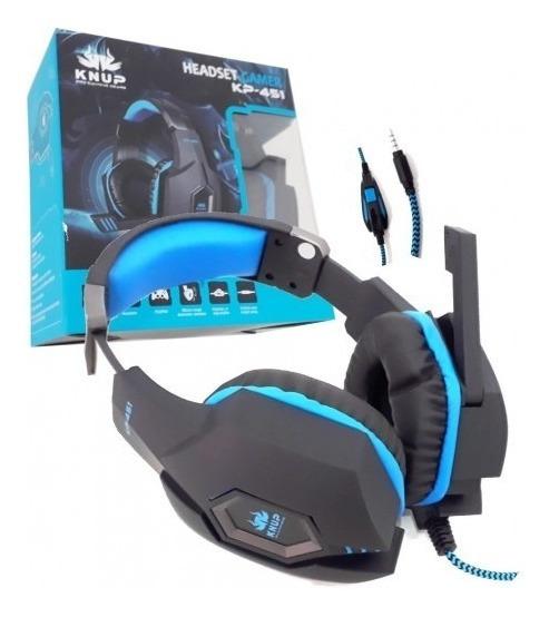 Fone Gamer Headset Profissional Ps3 Ps4 X-box Pc Original