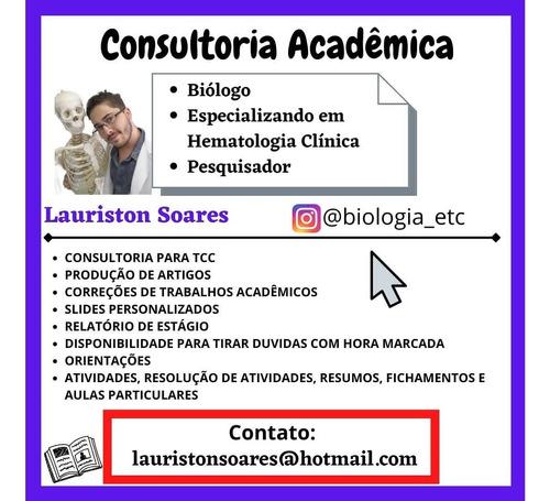 Imagem 1 de 3 de Consultoria Acadêmica/ Faço O Seu Tcc