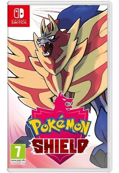 Pokemon Shield Switch Mídia Física
