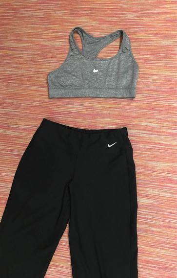 Cojunto Calza Y Top Nike Talle Xs 1 Uso Aprovéchalo
