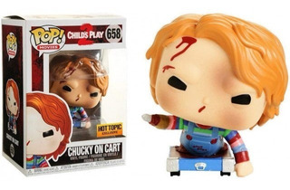 Funko Pop Chucky En Carrito 658 Hot Topic Baloo Toys