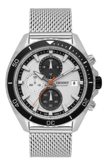 Relógio Orient Masculino Cronógrafo Analógico Mbssc178