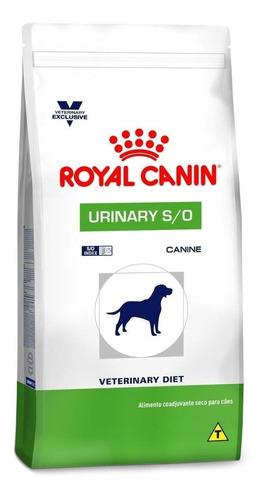Imagen 1 de 1 de Alimento Royal Canin Veterinary Diet Canine Urinary S/O para perro adulto de raza mediana/grande sabor mix en bolsa de 11.5kg