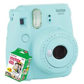 Câmera Instantânea Fujifilm Instax Mini 9 Azul Clar+20 Filme