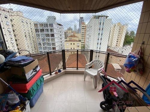 Apartamento 2 Dormitorios 1suite Varanda Com  Lazer  - Aparecida  Santos - 4871