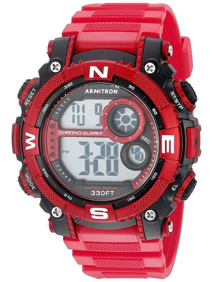 Armitron Sport Hombre 40/8284rdbk Reloj Cronógrafo Digital