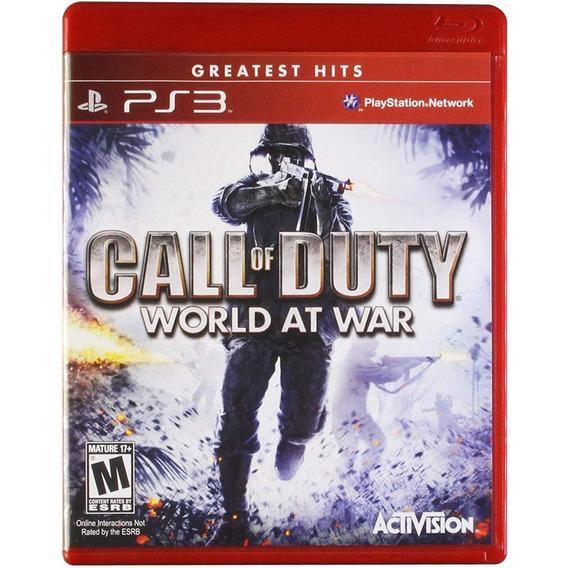 Call Of Duty World At War Ps3 Lacrado