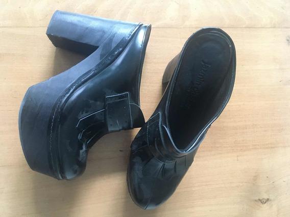 Sueco Zapato Jazmin Chebar Negro T36 Un Uso Como Nuevo