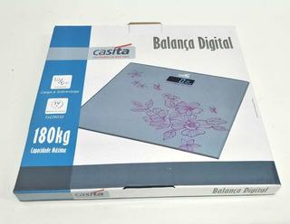 Balança Digital Vidro Temperado 180kg Banheiro