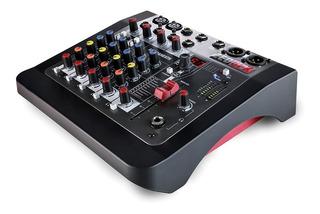 Allen & Heat Zed 6fx Consola 6 Canales Mixer Efectos Estudio