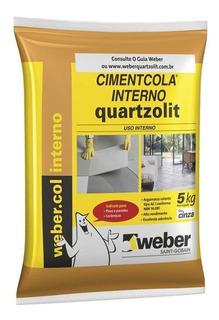 Argamassa Colante Cimentcola Interno Cinza 5kg
