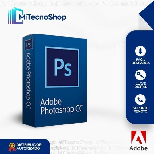 Adob Photoshop Cc - Original   Garantía   Permanente
