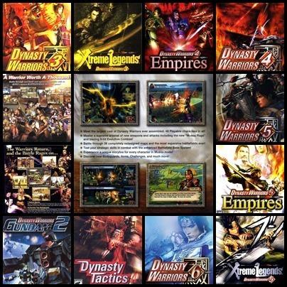 Ps2 - Dynasty Warriors - 10 Dvds - Patch Desbloqueado