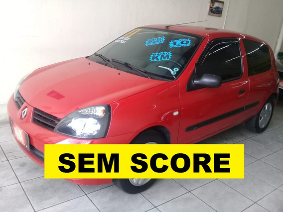 Renault Clio Financio Mesmo Sem Score E Sem Entrada