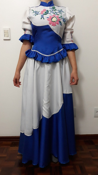 Vestido De Prenda Gaúcha Pouco Usado