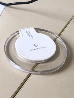 Carregador Wireless Sem Fio Fantasy Branco