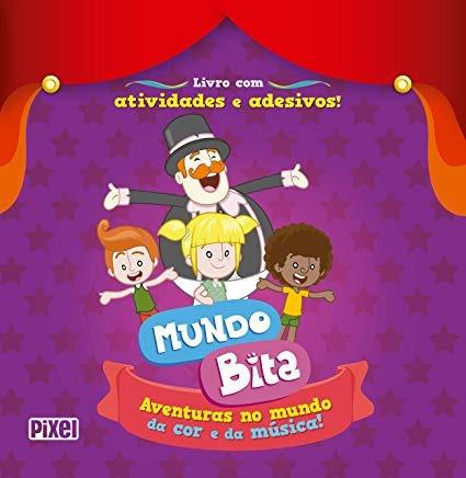 Livro Mundo Bita Aventuras No Mundo S/ Autor