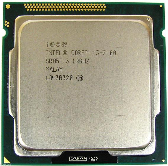Processador Intel Core I3-2100 3.1ghz Cache 3mb Lga1155