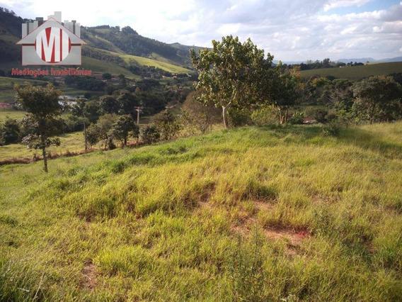 Terreno No Alto Com Linda Vista, 2000 M² Por R$ 120.000 - Rural - Socorro/sp - Te0222