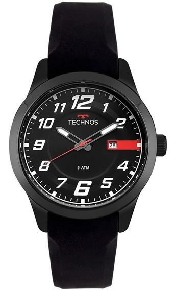 Relógio Technos Masculino Racer 2115mov/8p Preto Aço